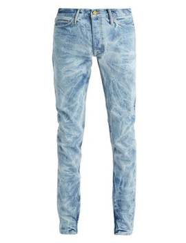 Holy Water Slim Leg Jeans by Fear Of God