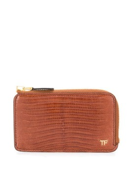 Lizard Effect Wallet by Tom Ford