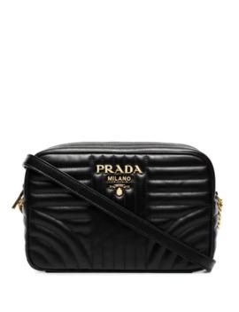 Quilted Medium Camera Bag by Prada