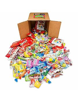 Your Favorite Party Mix Of Brand Name Candy!   A 6 X6 Box (3.5 Lb.  56 Oz.) Of Gummi Bears, Airheads, Laffy Taffy, Tootsie Rolls, Skittles, Lemon Heads, Jaw Buster's & More... by Snackadilly