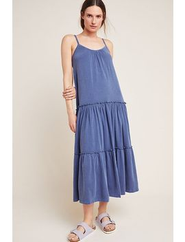 Sundry Tiered Midi Dress by Sundry