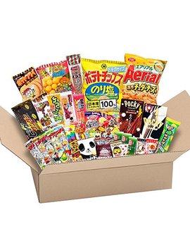 Japanese Valuable Party Snack Box Popular Set Dagashi Japan Aerial Chocolate Pocky With Akiba King Sticker by Akiba King