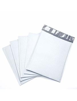 Fu Global #2 8.5x12 Inches Poly Bubble Mailers Padded Envelopes Pack Of 25 (White) by Fuxury