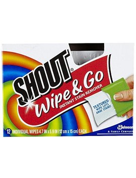 Shout Stain Remover Wipes 12ct by Shout