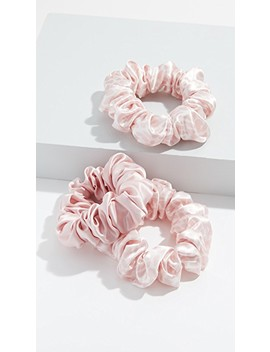 Classic Large Scrunchie Set Of 3 by Slip