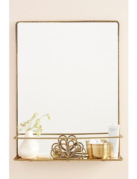 Francis Shelved Mirror by Anthropologie