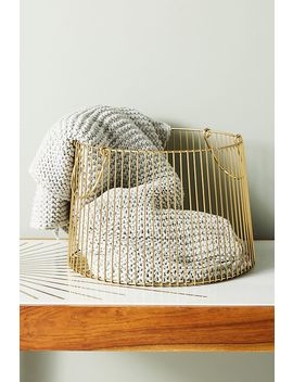 Jolene Basket by Anthropologie
