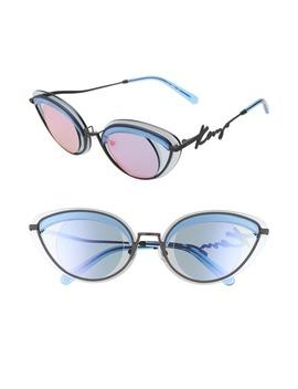 43mm Cat Eye Sunglasses by Kenzo
