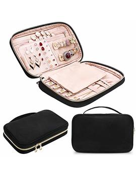 Creative Design Jewelry Organizer, Travel Jewelry Organizer Storage Bag Holder For Earring, Rings, Necklace,Bracelet,Watch And More by C Creative Design
