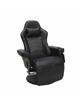 Respawn 900 Racing Style Gaming Recliner, Reclining Gaming Chair, In Black (Rsp 900 Blk) by Respawn
