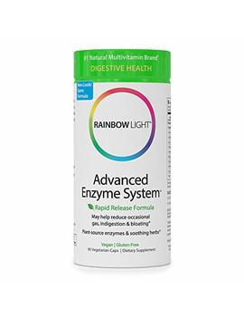 Rainbow Light   Advanced Enzyme System   Plant Sourced Whole Food Enzyme Supplement, Supports Nutrient Absorption And Digestive Health; Vegan And Gluten Free   90 V Caps by Rainbow Light