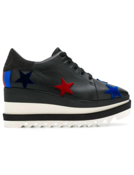 Star Elyse Platform Sneakers by Stella Mc Cartney
