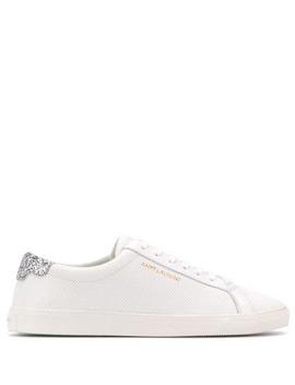 Andy Sequin Heel Sneakers by Saint Laurent
