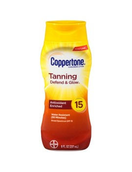 Coppertone Tanning Sunscreen Lotion   Spf 15   8oz by Spf 15