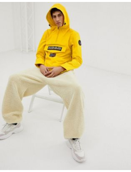 Napapijri Rainforest Jacket In Yellow by Napapijri