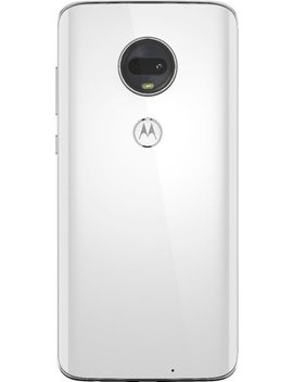 Moto G7 With 64 Gb Memory Cell Phone (Unlocked)   Clear White by Motorola