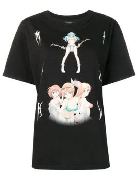 T Shirt Met Print by Misbhv