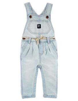 Knit Denim Overalls   Iowa Wash by Oshkosh