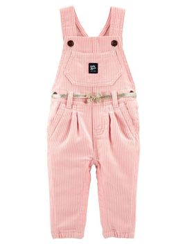 Hickory Striped Overalls by Oshkosh