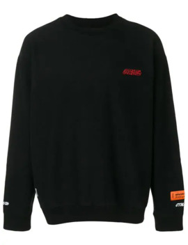 Sweatshirt Mit Logo by Heron Preston