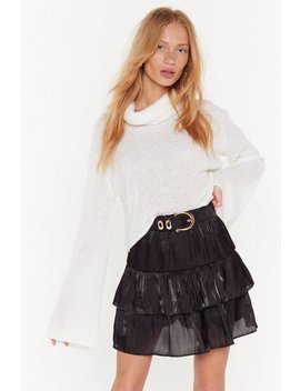 Came Tier To Party Mini Skirt by Nasty Gal