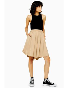 **Camel Culottes By Boutique by Topshop