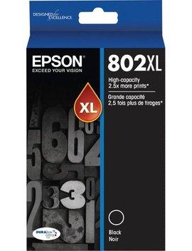 802 Xl High Yield   Black Ink Cartridge   Black by Epson