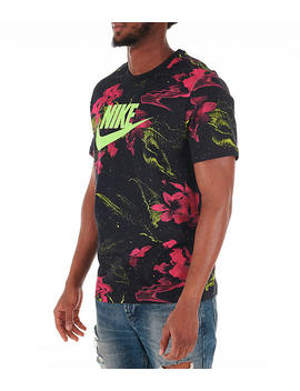 Men's Nike Sportswear Gel Limeade T Shirt by Nike