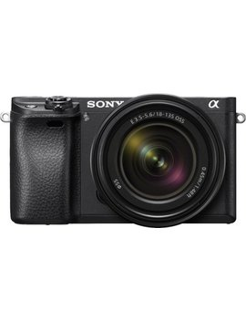 Alpha A6300 Mirrorless Camera With E 18 135mm F/3.5 5.6 Oss Lens   Black by Sony