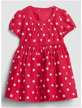 Baby Dot Puff Sleeve Dress by Gap