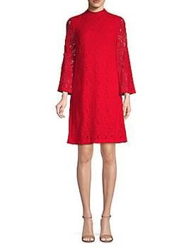 Lace A Line Dress by Karl Lagerfeld Paris