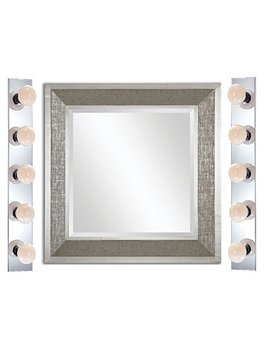 """Nuvo Lighting Sf77/196 Five Light Vanity (30""""   2 Pack, Chrome) by Nuvo"""