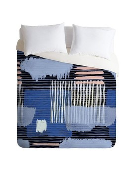 Ninola Design Geometric Abstract Duvet Set   Deny Designs by Deny Designs