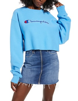 Reverse Weave® Crop Sweatshirt by Champion