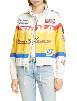 Racing Bomber Jacket by Polo Ralph Lauren