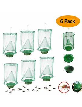 Convenientools Ranch Fly Trap The Most Effective Trap Ever Made With Food Bait Flay Catcher For Outdoor (6pcs) by Convenientools