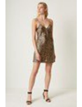 Leopard Slip Dress by French Connection