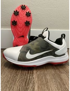 Nike Tour Premiere Nrg Golf Shoes Red Olive Green Camo Size 9.5 Bq4814 100 by Nike