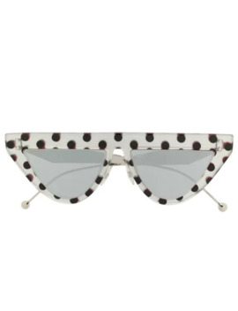 Polka Dot Sunglasses by Fendi Eyewear