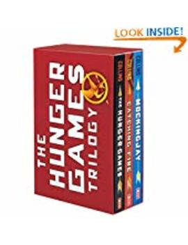 The Hunger Games Trilogy: The Hunger Games / Catching Fire / Mockingjay  (Paperback) by Suzanne Collins (Author)
