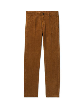 Cotton Corduroy Trousers by Massimo Alba
