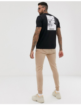 Asos Design Relaxed T Shirt With Historic Back Print by Asos Design