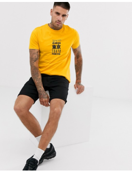 Asos Design T Shirt With Multiple City Text Print by Asos Design