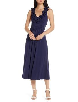 Leena Ruffle Midi Dress by Lilly Pulitzer®