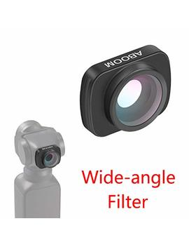 Aboom 0.6 X Hd Wide Angle Lens For Osmo Pocket Accessories Expand The Field Of View Vlog And You Tube Studio Photography by Aboom