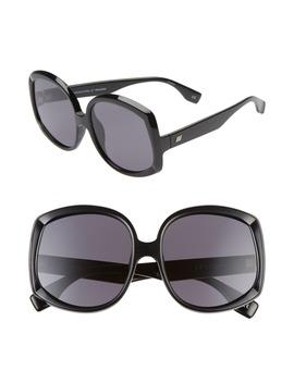 Illumination 59mm Square Sunglasses by Le Specs