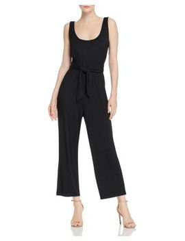 Better Off Tie Waist Jumpsuit by Bb Dakota