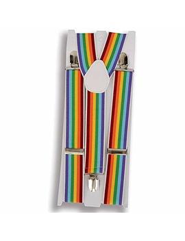 Rainbow Color Suspenders by Forum Novelties