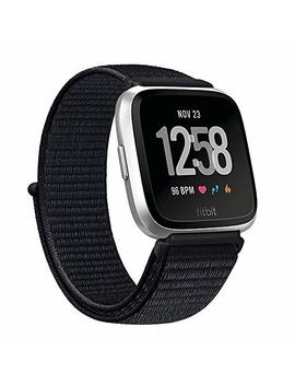 Ak Bands Compatible With For Fitbit Versa Bands, Soft Fabric Replacement Wristband Sports Strap With Fastener Adjustable Velcro Closure For Fitbit Versa/Versa Lite Women Men by Ak