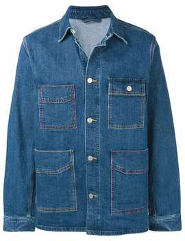'vintage Stretch' Denim Chore Jacket by Ps Paul Smith